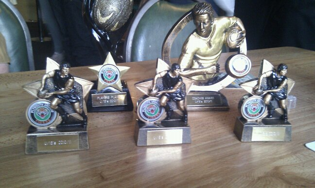 Presentation Night Trophies