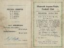 1935-36 Fixture Card
