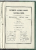 1930s Fixture Cards
