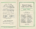 1950s Fixture Cards