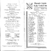 1960s Fixture Cards