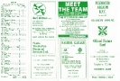 1990s Fixture Cards