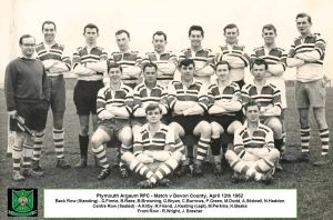 Argaum XV v Devon XV - April 1962