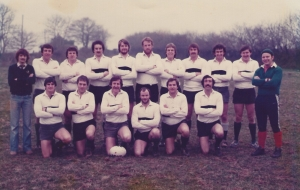 1st XV 1980-81: Back Row: C.Critten, S.Body, G.Baskerville, M.Collins, N.Hall, J.Crowther, T.Rapier, D.Hurrell, A.Davey, N.Slater, J.Clark.  Front Row: P.Gamblen, J.Hunt, M.Worth (capt), I.Ramsay, J.Studds, B.Willcocks.