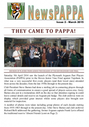 NewsPAPPA Issue 2 - March 2015