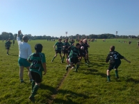 Lineout action from the Cup Tie - Argaum in black