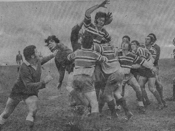 Action from Argaum v Redruth Albany December 1972